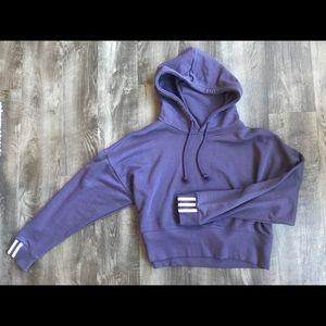 Adidas Original Women's Cropped Hoodie